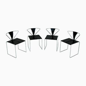 Iside Dining Chairs by Kazuhide Takahama for Gavina, 1980s, Set of 4