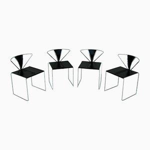 Iside Esszimmerstühle von Kazuhide Takahama für Gavina, 1980er, 4er Set