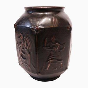 Vase en Grès par Jais Nielsen pour Royal Copenhagen, 1940s