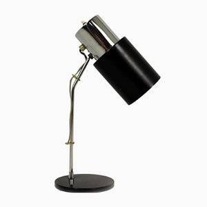 Chrome Plated Table Lamp by Josef Hurka for Napako, 1970s