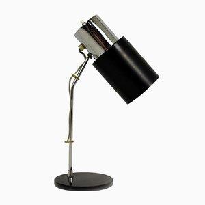 Lámpara de mesa cromada de Josef Hurka para Napako, años 70