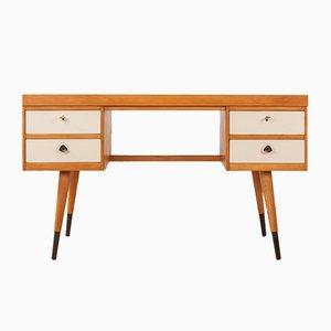 Deutscher Mid-Century Schreibtisch aus Eschenholz & Resopal, 1950er