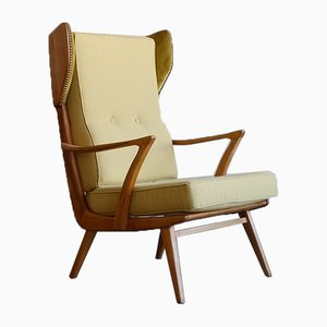 Swedish Teak Armchair, 1960s