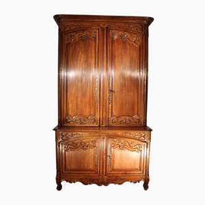 Large Antique Walnut Cabinet