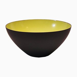 Danish Krenit Bowl by Herbert Krenchel, 1960s