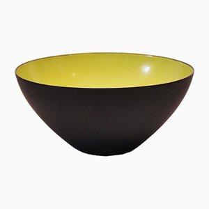 Danish Krenit Bowl by Herbert Krenchel, 1960s
