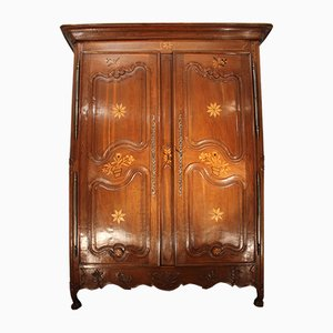 Antique French Oak Wardrobe