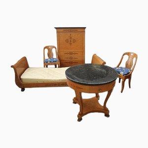 Juego de dormitorio Charles X francés antiguo