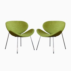 Italian Side Chairs, 1980s, Set of 2