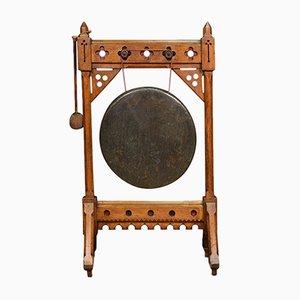 Gong Victorien Renouveau Gothique