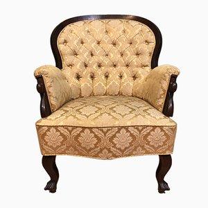 Antiker Sessel im Biedermeier-Stil
