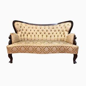 Canapé Style Biedermeier Antique
