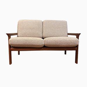 Canapé 2 Places en Teck et Laine par Sven Ellekaer pour Komfort, Danemark, 1960s