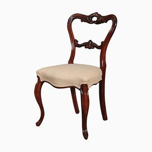 Antike Esszimmerstühle aus Palisander, 2er Set
