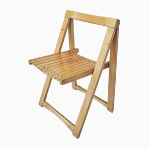 Italian Modern Folding Chairs by Aldo Jacober for Bazzani, 1970s, Set of 4