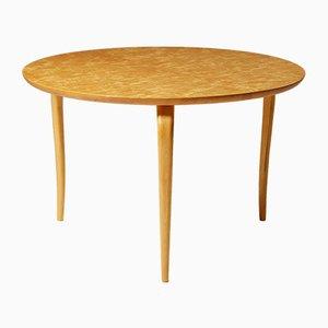 Modernist Birch Annika Table by Bruno Mathsson for Karl Mathsson, 1973