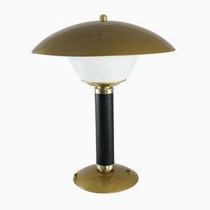 Französische Art Deco Tischlampe von Jumo