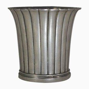 Moderne Vase aus Zinn von Just Andersen, 1920er