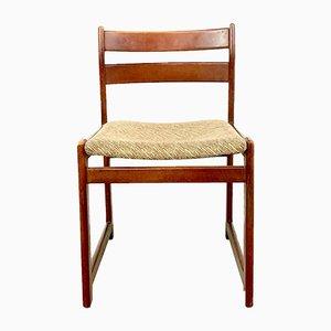 Esszimmerstühle aus Holz von Guilleumas, 1960er, 6er Set