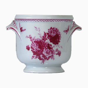 French Porcelain Vase from Raynaud & Co Limoges, 1980s