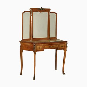 Antique Italian Serpentine Dressing Table