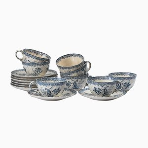 Antique Tableware Set from Utzschneider & Cie