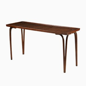Tavolino modernista in quercia di Carl Axel Acking per Bodafors, anni '40