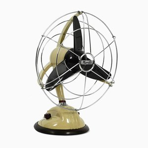 Italian Model 304 Table or Wall Fan from Marelli, 1960s