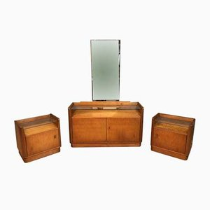 Mid-Century Mirrored Dressing Table, 1960s