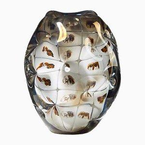 Vase Fabula & Ariel Vintage par Per B. Sundberg pour Orrefors, 2004