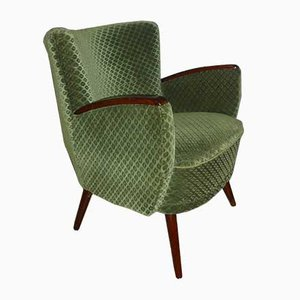 Mid-Century Green Lounge Chair, 1960s