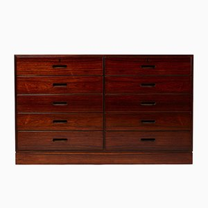 Modernist Danish Rosewood Dresser by Kaj Winding, 1960s