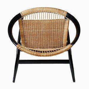 Danish Number 23 Ring Chair by Illum Wikkelsö for Niels Eilersen, 1950s