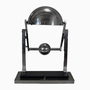 Modernist Satellite Desk Lamp by Jacques Adnet, 1920s