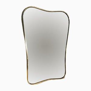 Vintage Brass Mirror