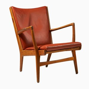 Danish Model AP16 Oak Armchair by Hans Wegner for A.P. Stolen, 1950s