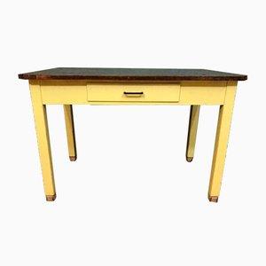 Tavolo da pranzo Mid-Century in legno, anni '50