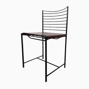 Moderne italienische Esszimmerstühle von Cidue, 1980er, 4er Set