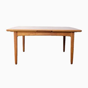 Danish Teak Extendable Dining Table by Svend Åge Madsen, 1960s