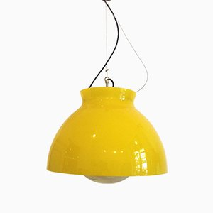 Italian Murano Glass Pendant Lamp from Vistosi, 1960s