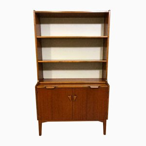 Mid-Century Wooden Highboard Secretaire, 1960s
