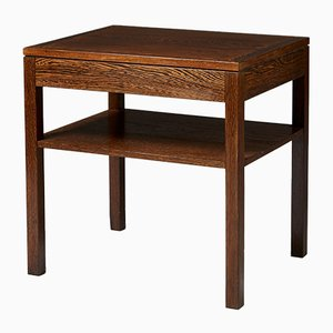 Mid-Century Danish Wenge Side Table, 1960s