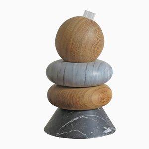 Bougeoir Sculptural ou Support pour Fleurs par Capperidicasa