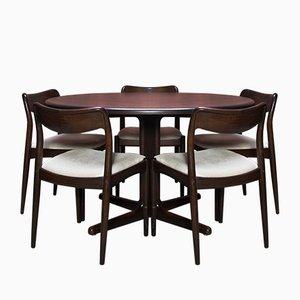 Danish Teak Dining Set by Johannes Andersen for Uldum Møbelfabrik, 1960s