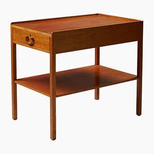 Swedish Model 914 Bedside Table by Josef Frank for Svenskt Tenn, 1950s