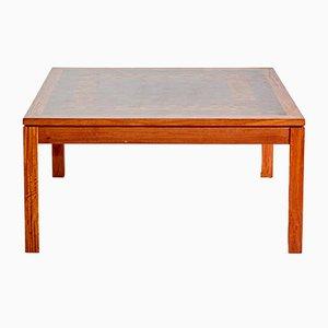 Mesa de centro danesa de madera de Rolf Middelboe y Gorm Lindum para Tranekær Furniture, años 60