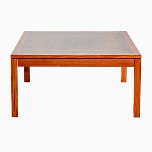 Table Basse en Bois par Rolf Middelboe et Gorm Lindum pour Tranekær Furniture, Danemark, 1960s