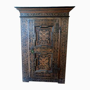Antique Rustic Larch Cabinet