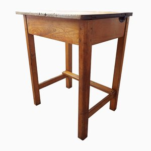 Mid-Century Beech Childrens Desk from ESA, 1950s