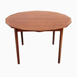 Mid-Century Wooden Round Dining Table by Tredici, 1960
